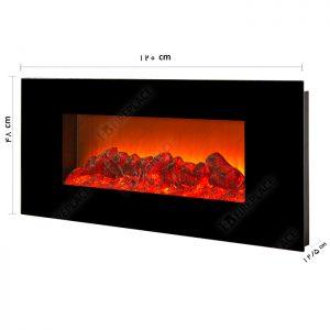 شومینه | شومینه برقی ال سی دی | شومینه اچ بی | شومینه دیواری | شومینه برقی دیواری | HB-022-120